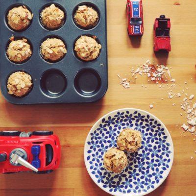 csirkés muffin