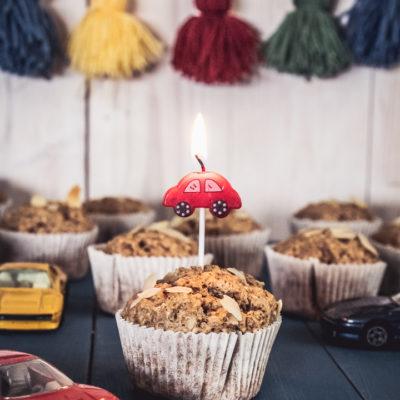 Fahéjas mandulás muffin