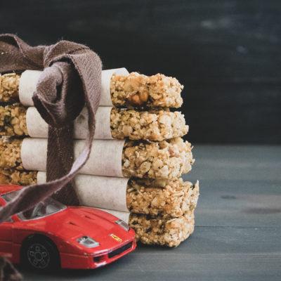 négysajtos granola szelet