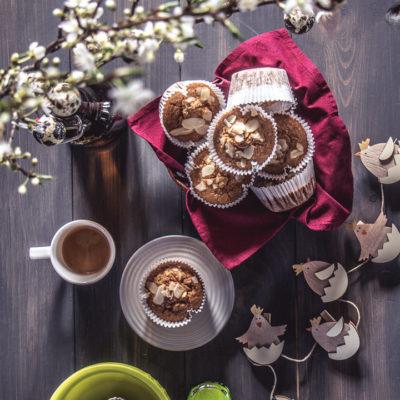 sárgarépás fahéjas muffin